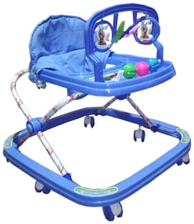 Oh Baby Baby adjustable walker with Blue color for your kids SE-W-13