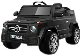 Oh Baby;Baby Battery Operated OFFICIAL LICENSED PRODUCT BLACK Color MERCEDES Jeep With Key Start USB Connectivity For Music;Remote Control With Dual Door Opening With Double Motor