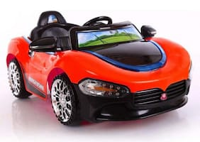 Oh Baby;Baby Battery Operated Red Color CAR OFFICIAL LICENSED PRODUCT With Double Motor And Double Battery For Your Kids SE-BOC-130