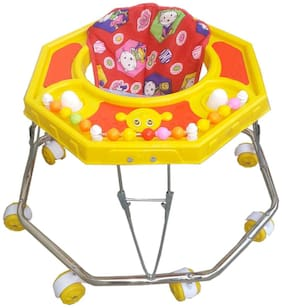 Oh Baby Baby Steel Pipe yellow Walker for your kids SE-W-24