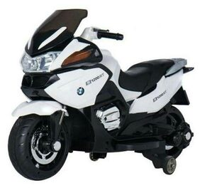 Oh Baby, Baby Battery Operated BMW 1200RT Model Bike WHITE Color With Musical Sound For Your Kids SE-BOB-30