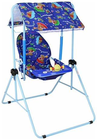 Oh Baby Baby Color (Multi) Plastic AND HUD Swing SE-SJ-25
