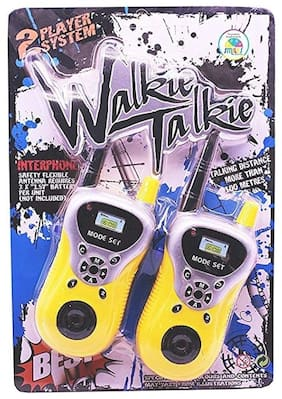 OH BABY, BABY WALKIE TALKIE SET FOR KIDS TO TALK BACK ,FUN PLAY AROUND 100 m FOR YOUR KIDS SE-ET-597