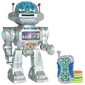 OH BABY, BABY  Dancing Robot with Missile Disc Launcher   FOR YOUR KIDS RRT-TTT  SE-ET-585