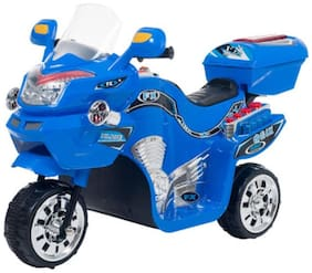 Oh Baby, Baby Battery Operated Bike Assorted Color With Musical Sound And Back Basket For Your Kids SE-BOB-48