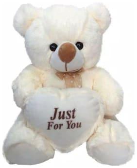 Oh Baby White Teddy Bear - 46 cm