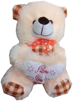 Oh Baby Cream Teddy Bear - 17 cm