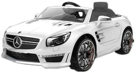 OH BABY;Baby White Color battery operated Mercedez car with open doors For Your Kids SE-BOC-127