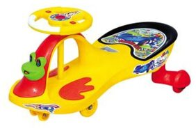 Oh Baby Baby Frog Shape Musical Light Magic Car For Your Kids se-mc-36