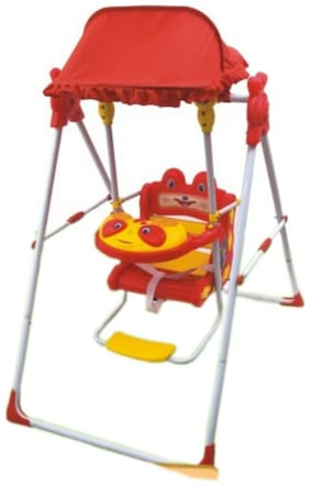Oh Baby Baby COLOER (RED) Plastic AND HUD Swing SE-SJ-35