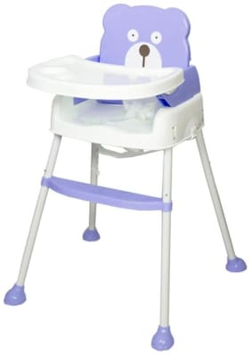 OH BABY, BABY  baby 5 in 1 Smart and Convertible High Chair Baby Feeding Chair- PURPLE  FOR YOUR KIDS SE-ET-07