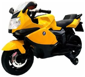 Oh Baby, Baby Battery Operated BMW Ofiicial Lincesed BIKE Assorted Color With Double Moter And Double Battery With Original Music System For Your Kids SE-BOB-42