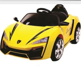Oh Baby;Baby Battery Operated car yellow Color for your kids SE-BOC-154