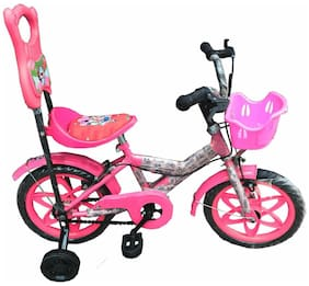 Oh Baby Baby 35.56 Cm (14) bicycle with red color for your kids SE-BC-03