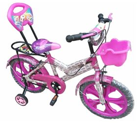 Oh Baby Baby 35.56 Cm (14) bicycle with Pink color for your kids SE-BC-15