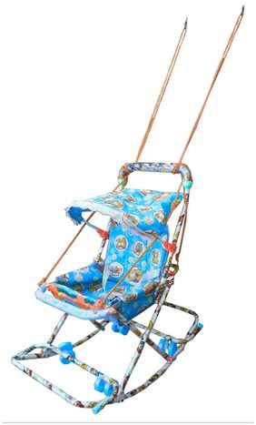 Oh Baby Baby Blue Color Walker With 6 In 1 Function For Your Kids SE-W-26