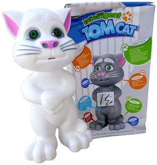 OH BABY, BABY Talking Tom WITH wonderful voice MUSICAL WITH AUTOMATIC INTELLIGENT SENSOR WHITE COLOR FOR YOUR KIDS SE-ET-05