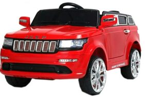 Oh Baby;Baby Battery Operated OFFICIAL LICENSED AUDI Q7 RED Color With Remote Control 2 MOTOR;2 BATTERY AND ORIGINAL Music SYSTEM For Your Kids SE-BOC-53
