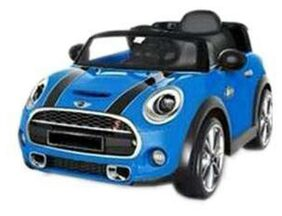 Oh Baby;Baby Battery Operated Car BLUE Color With Remote Control And Mobile Music Connectivity For Your Kids SE-BOC-45