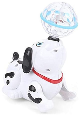 OH BABY, BABY  light and Musical Dancing Dog  AAA- FGG - SE-ET-584