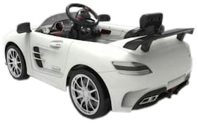 OH BABY, BABY KIDS BATTERY OPERATED RIDE ON CAR WITH OPENABLE DOORS POWER STEERING SE-BOC-78