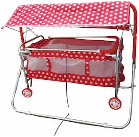 Oh Baby Baby Steel Pipe Bassinets And Cradles With Mosquito Net Se-Jp-09