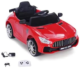 Oh Baby, Baby Battery Operated MERCEDES-BENZ=2014 CAR MODEL RED Color With Remote Control And DOUBLE MOTOR AND DOUBLE BATTERY WITH ORIGINAL Music SYSTEM For Your Kids SE-BOC-22