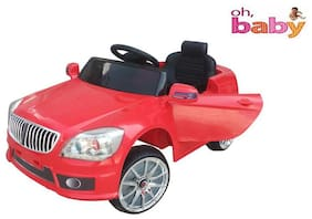 Oh Baby, Baby Battery Operated BMW XI MODEL RED Color With Remote Control And DOUBLE MOTOR AND DOUBLE BATTERY WITH ORIGINAL Music SYSTEM For Your Kids SE-BOC-20