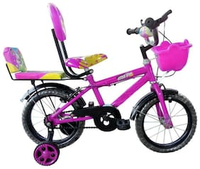 Oh Baby Baby 35.56 Cm (14) double seat bicycle;PINK color for your kids SE-BC-23