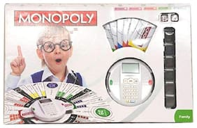 OH BABY, BABY MONOPOLY GAME WHITE  Revolution DFG-ET-ET-JLO-123