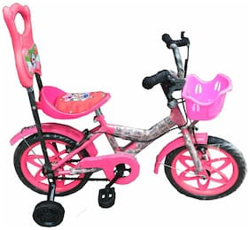 Oh Baby Baby 35.56 Cm (14) bicycle with Pink color for your kids SE-BC-03 Oh Baby Baby 35.56 Cm (14) bicycle with Pink color for your kids SE-BC-03