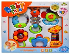OH BABY, BABY  Baby Rattles In A Bag (6 pcs) Rattle   FOR YOUR KIDS SE-ET-679