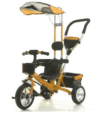Oh Baby, Baby Musical With Tubeless Tyre 2 In 1 Function Tricycle For Your Kids SE-TC-159