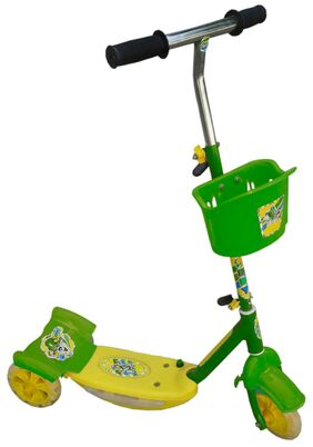 Oh baby baby heavy big pipe musical light Green color Scooter for your kids SE-SC-03