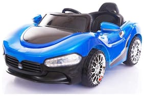 Oh Baby, Baby Battery Operated Sports Car Blue Color With Remote Control And Mobile Music Connectivity For Your Kids SE-BOC-04