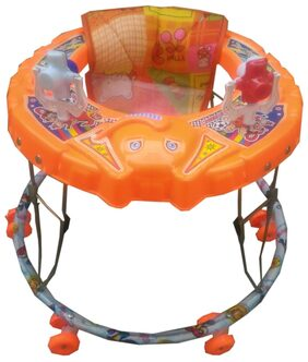 Oh Baby Baby Orange Color Elephant Walker For Your Kids SE-W-33