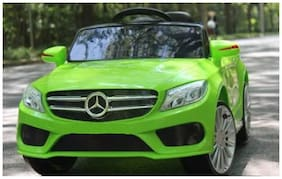 Oh Baby Battery Operated OFFICIAL LICENSED Mercedes CAR USB Connectivity For Music And Remote Control 2 Moter And 2 Battery With Rocking Function, For Your Kids SE-BOC-174