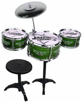 Oh Baby Branded Jazz Drum Instruments Set Kit Musical Toy For Your Kids