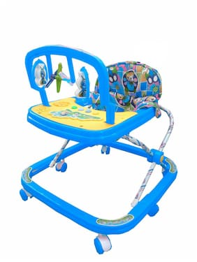 OH Baby Brand, Baby Beautiful 2-in-1 Function Height Adjustable Musical Walker Function Height Adjustable Musical Walker... For Your Kids