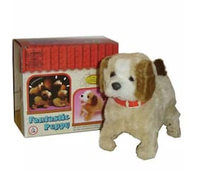 Oh Baby branded ELECTRONIC TOY is luxury Products . OH BABY  Super Vision Beige Lovely Jumping Dog - FOR YOUR KIDS SE-ET-374