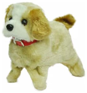 Oh Baby branded ELECTRONIC TOY is luxury Products  Super Vision Beige Lovely Jumping Dog  FOR YOUR KIDS SE-ET-376