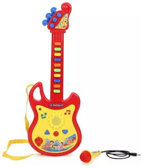 OH BABY Creation Multicolor Musical Guitar With Light SE-ET-142
