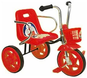 OH BABY Cycle Baby Tricycle WITH CYCLE COLOR Red SE-TC-89