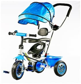 OH BABY Cycle Baby Tricycle WITH CYCLE COLOR Multi SE-TC-74