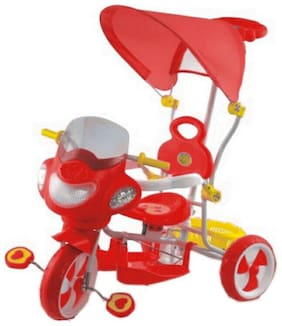 OH BABY Cycle Baby Tricycle WITH CYCLE COLOR Red SE-TC-142