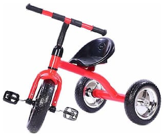 OH BABY Cycle Baby Tricycle WITH CYCLE COLOR Red SE-TC-64