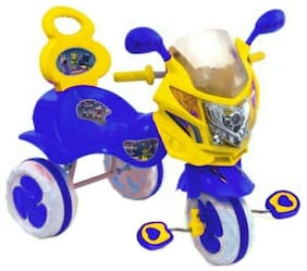 OH BABY Cycle Baby Tricycle WITH CYCLE COLOR Blue SE-TC-121