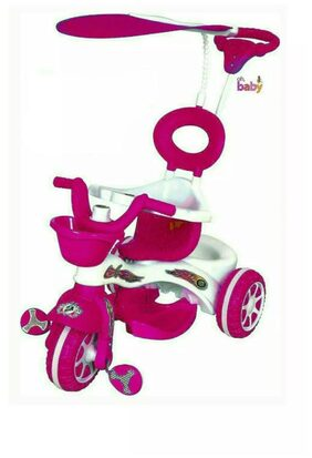 OH BABY Cycle Baby Tricycle WITH CYCLE COLOR Pink SE-TC-53