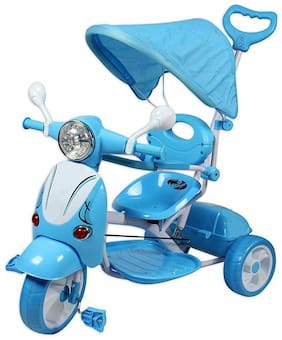 OH BABY Cycle Baby Tricycle WITH CYCLE COLOR Blue SE-TC-70