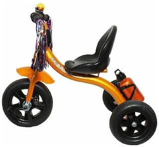 OH BABY Cycle Baby Tricycle WITH CYCLE COLOR Golden SE-TC-63